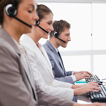Deployment of contact center virtual switchboards